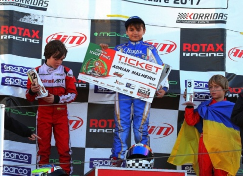 Series Rotax Micro - Adrián Malheiro campeón, Bondarev se impone en la primera carrera