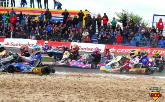 Campeonato de España - Intenso comienzo en Recas