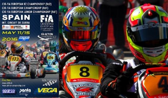 Europeo CIK-FIA Zuera - ¡Corremos en casa!