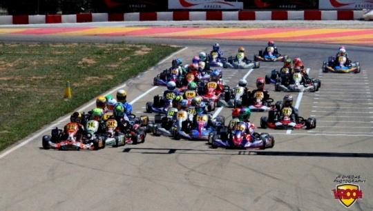 Series Rotax - El karting no defraudó en Motorland