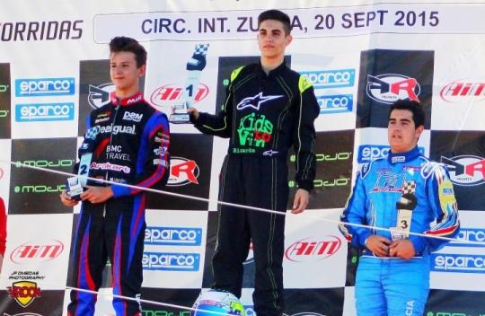 Series Rotax Max Zuera - Ricardo García se reencuentra con la victoria en su circuito talismán