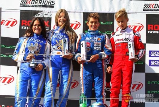 Series Rotax Junior - Iván Bataller vence en Chiva y afianza el liderato