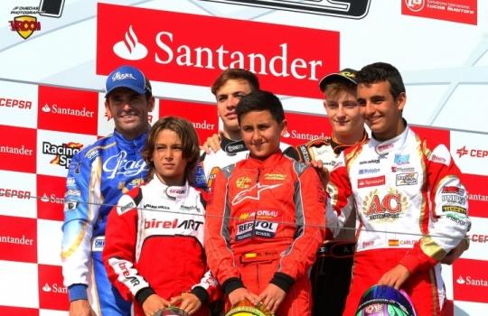 Fin de fiesta para el Campeonato de España de Karting 2016