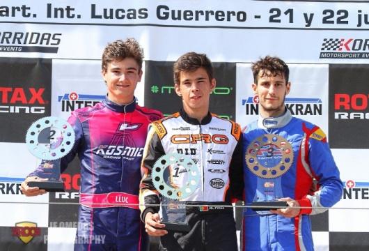Series Rotax DD2 - Mariano Pires imbatible en Chiva