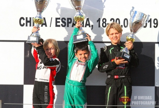 Winter Series Alevín - Christian Costoya se impone en Chiva