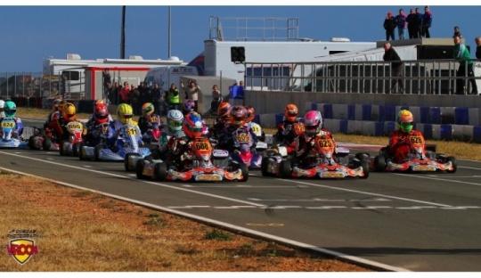 Rotax ruge en el Kartodromo Internacional Lucas Guerrero