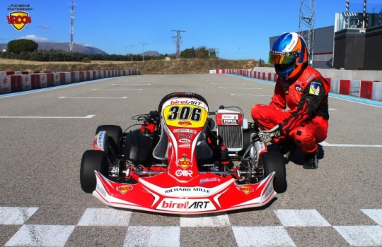 Birel Art DD2 - El Campeón de las Series Rotax 2016