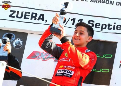 Los españoles de las Rotax Grand Finals - Mari Boya (Mini)