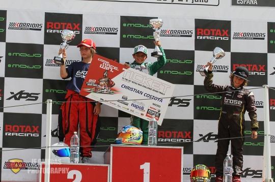 Nuevo título en Micro y pase a las Rotax Grand Finals para Christian Costoya
