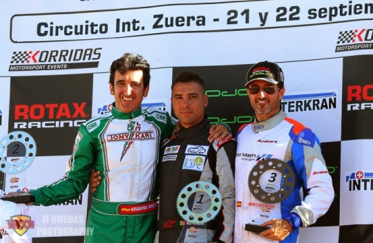 Series Rotax DD2 Master - Rui Pereira se impone a Gregorio Jiménez y Jesús Pérez-Santander