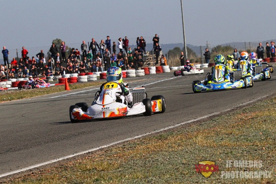 Iame Winter Cup Junior: Top 8 para Iván Arias