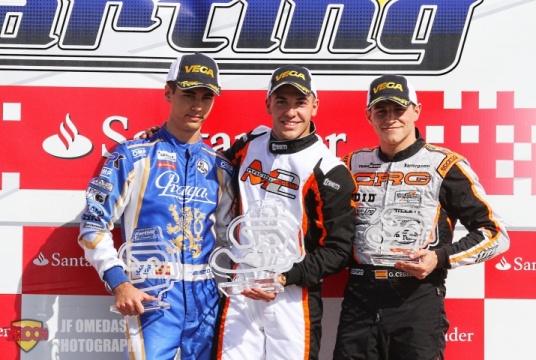 CEK Chiva KZ2 - Doblete de Pedro Hiltbrand, Gerard Cebrián campeón