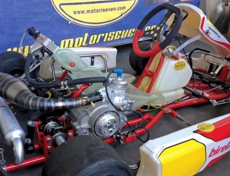 NOVEDAD: ¡Motor con marchas para el chasis Mini/Cadete!