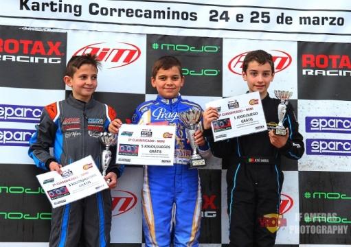 Trofeo Ibérico Mini - Doble triunfo de Adrián Malheiro en Recas