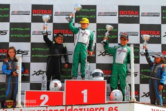 Copa Rotax Academy: Óscar Fuertes Campeón