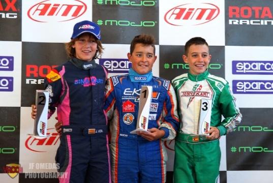 Series Rotax Junior - Iván Bataller y Josep Vea vencen en Zuera