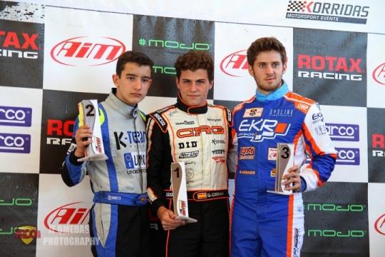Series Rotax DD2 - Gerard Cebrián y Alex Lahoz vencen en Zuera
