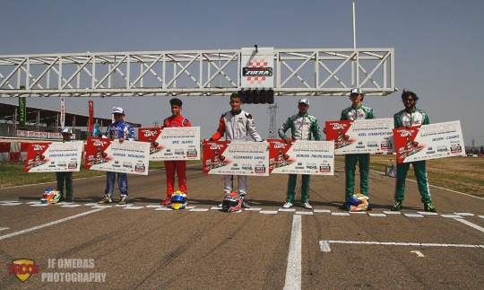 Rumbo a Italia 2019: La Copa Rotax ya tiene ganadores