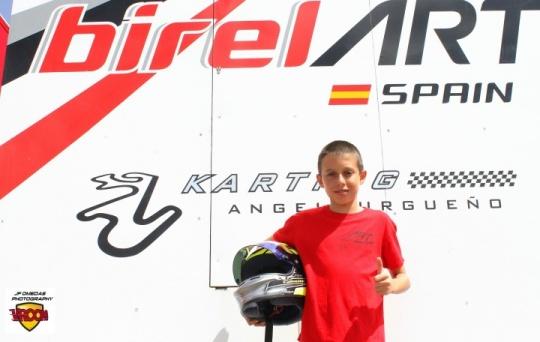 """Daniel Nogales: """"Lo que más disfruto del karting son las carreras"""""""