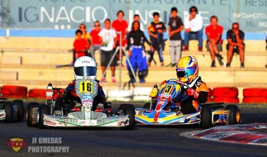 Copa Academy Rotax - Victoria de Bogdan Ionut en Chiva, título para Álvaro Serna