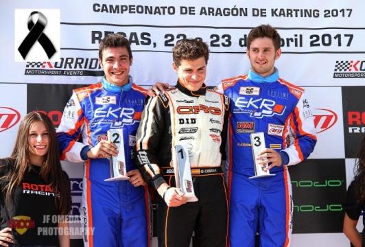 Series Rotax DD2 - Gerard Cebrián sin rival en Recas