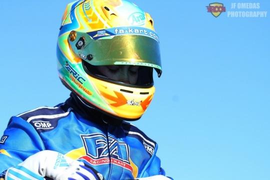 Eric Alanis en el CIK-FIA Academy Trophy 2019