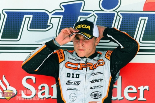 Gerard Cebrián - Campeón de España de KZ2