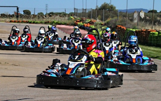 Rental Series 4T by EKR: Cáceres Kart coronó a los campeones