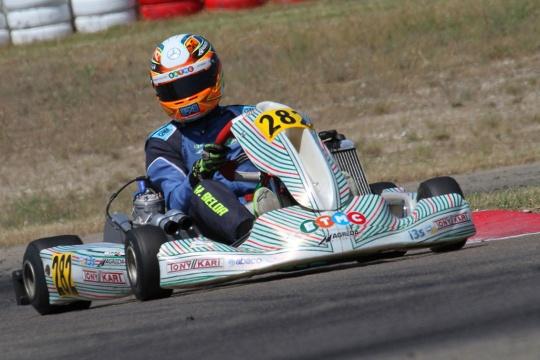 ETMC Motorsport debuta en competición FIA Karting en Zuera