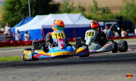 Rotax Junior - Rubén Sabater imparable en Recas.