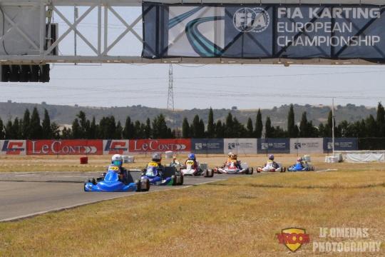 Qualifying Europeo Zuera OK-J: 8ª plaza para Bruno del Pino, DPK 4º con Nikola Tsolov