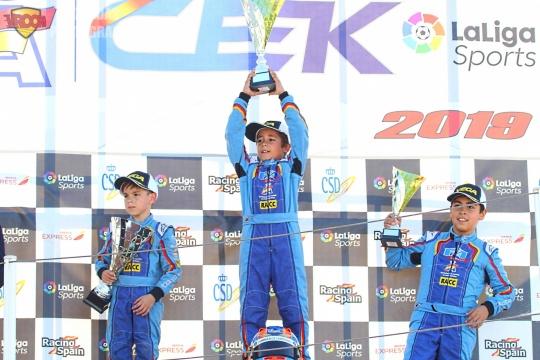 Academy CEK - Pleno de victorias y título para Álex Martínez