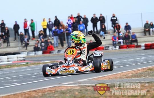 Oriol Dalmau gana la Rotax Winter Cup, Jorge Pescador subcampeón
