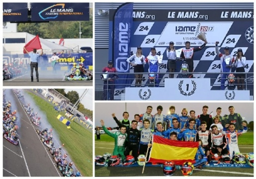 Iame International Final - Gerard Cebrián Campeón en Super Shifter