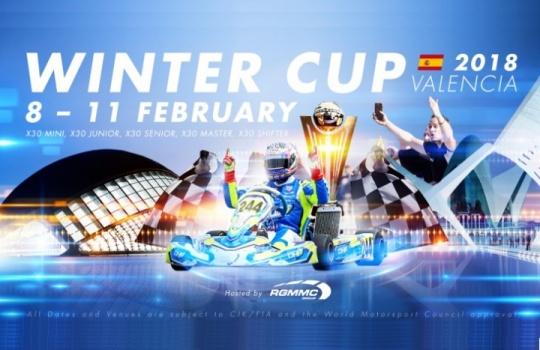 El Kartodromo de Valencia acogerá la Iame Winter Cup 2018