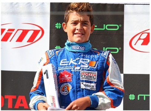 Los españoles de las Rotax Grand Finals - Iván Bataller (Junior)