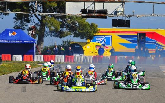 El catalán de karting arrancó en el Circuit de Juneda.