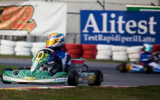 Ruben Moya cuarto en el Trofeo de la Industria en Lonato.