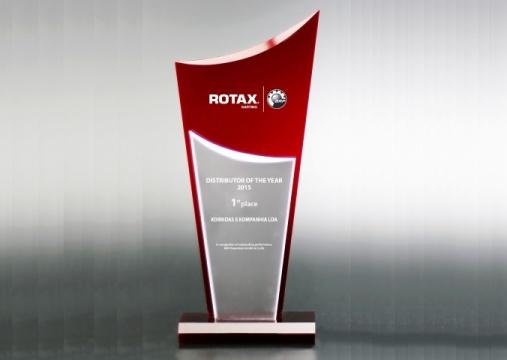 Korridas e Kompanhia, mejor distribuidor Rotax del año 2015
