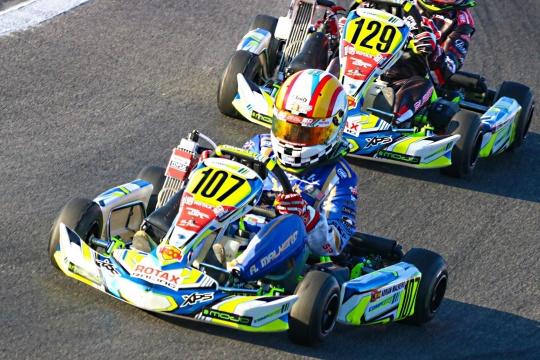 Rotax GF Prefinal Mini - Adrián Malheiro sigue en la batalla