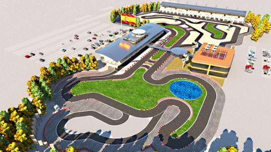 ¿Un mega complejo de karting en Málaga?
