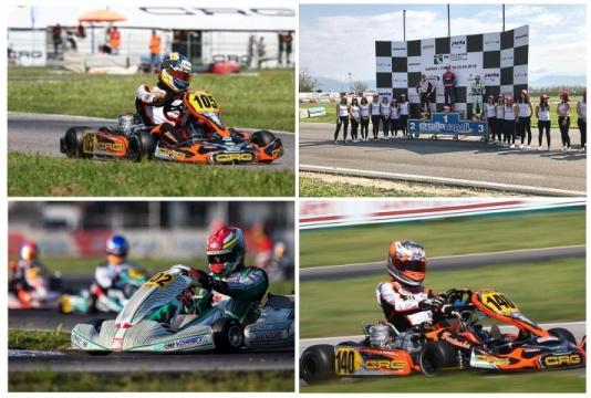Kart Grand Prix Italy OK: Cara y podio para Hiltbrand, cruz y abandono para Vidales