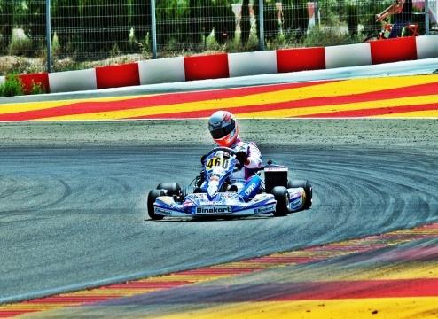 Álvaro Otero buscará en Motorland el billete para el Mundial Rotax
