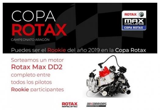 """Un motor DD2 completo para el """"Rookie del año"""" en la Copa Rotax"""
