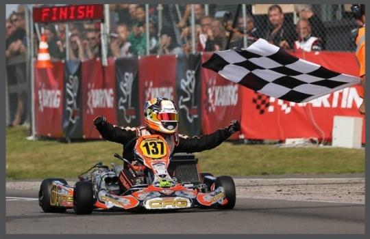Mundial Suecia - ¡Pedro Hiltbrand Campeón en KZ2!