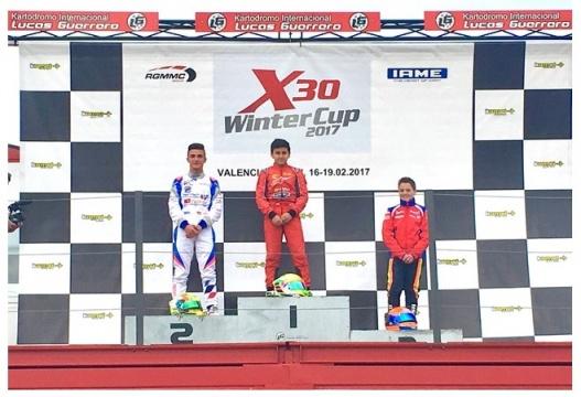 X30 Winter Cup - Victoria de Mari Boya en Junior, Rubén Moya subcampeón.