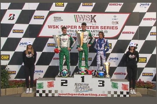 WSK Lonato - Pedro Hiltbrand conquista de nuevo el podio