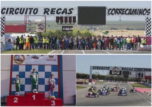 El Campeonato Madrileño de Karting 2019 despegó en el Karting Correcaminos