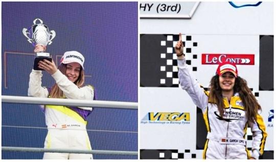 De la escuela del karting al podio de las Women Series