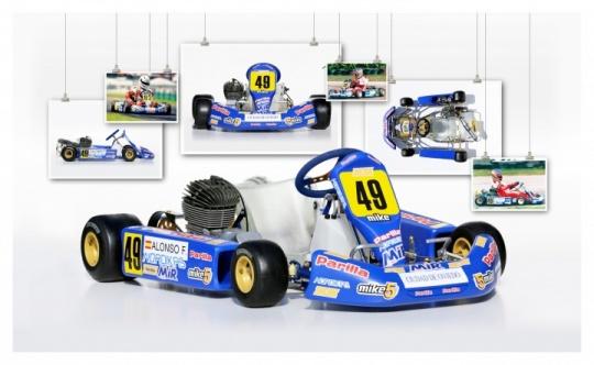 Karts de leyenda: Mike Wilson/Parilla de Fernando Alonso